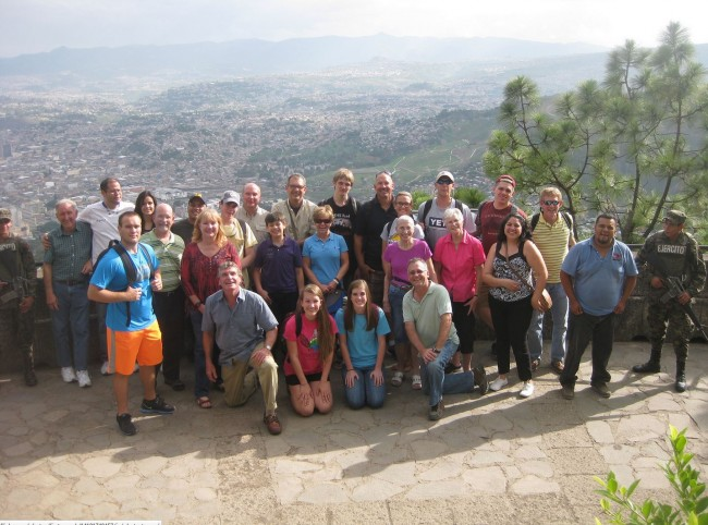 Honduras Mission Team 2014